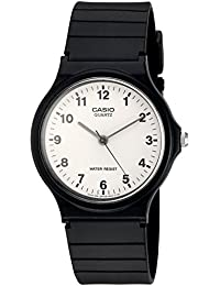 Casio Collection Herrenuhr Analog Quarz mit Resinarmband – MQ-24-7BLLGF