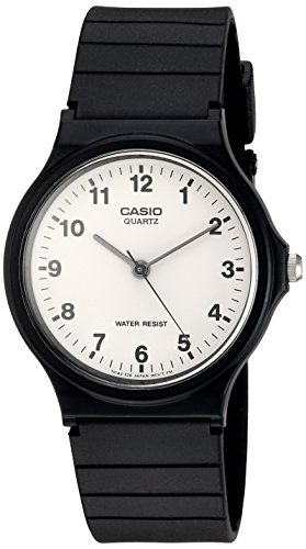 Casio Collection Herren-Armbanduhr Analog Resin – MQ-24-7BLL