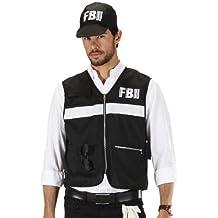 Widmann 7587S - Disfraz de policía para hombre (talla XL)