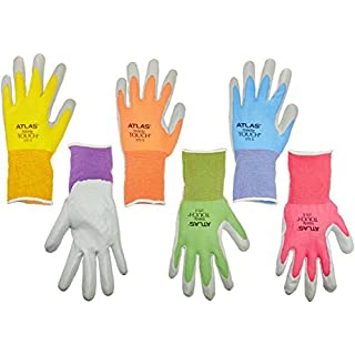 Showa Atlas NT370 Atlas Nitrile Garden Gloves - Small (Assorted Colors) by SHOWA
