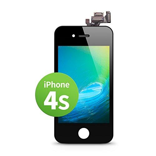 s LCD Touchscreen Retina Display Ersatz in Schwarz für Einfache Reparatur, FaceTime Kamera, 100% Kompatibel mit Apple (kein Set) ()