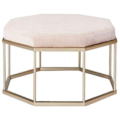 OUG Home Hocker Mode Kreative Kleidung Schuhgeschäft Stoff Sofa Hocker Metall Wohnzimmer Schlafzimmer Erwachsene Schuh Bank Einfach -