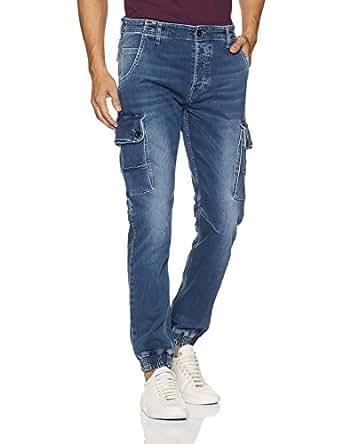 Jack & Jones Men's Skinny Fit Jeans (12140104Medium Blue Denim_28W x 32L)