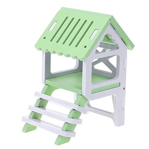 UEB Lit Hamster Nid Maison Escalade en Bois Petit Cage...