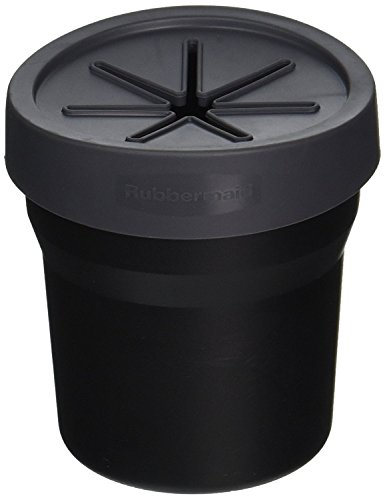 Rubbermaid 3316-00 Cup Holder Trash Can by Rubbermaid