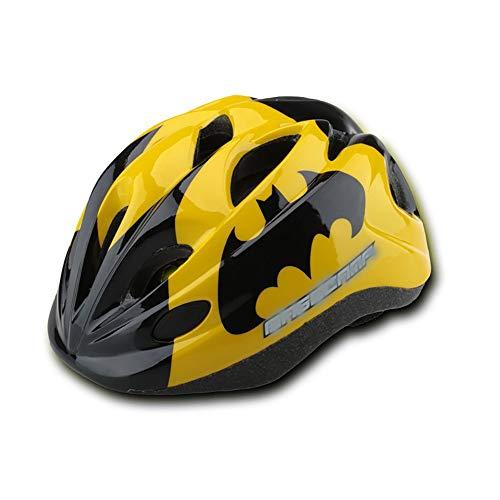 YLFC Helm für Kinder, Kinderfahrradhelm Sicherer Fahrradhelm Kinder-Helm rollerhelm mädchen kinderfahrradhelm für Mountainbike Inliner skaterhelm BMX (50-56CM)