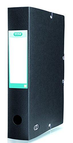Elba Prestige Box Eurofolio - Carpeta de proyectos (60 mm) color negro