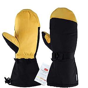 OZERO Ski Handschuhe,Thermal Winter Handschuhe für Herren und Damen,1 Paar
