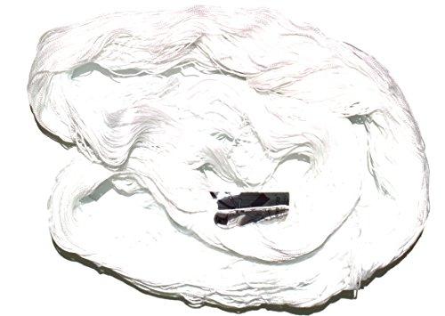 Madeja 200 grs Hilo Perlé Etiqueta Plateada Fabricado