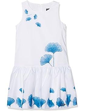 Conguitos Mädchen Kleid Vestido Niña Flores Azul