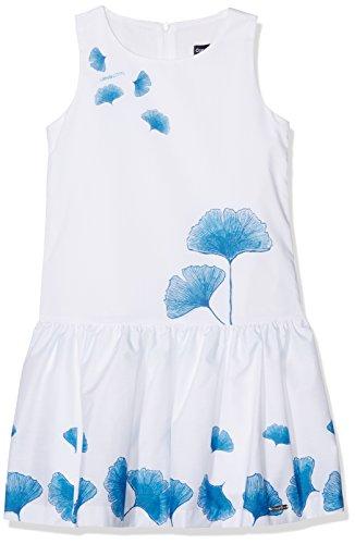 Conguitos Mädchen Kleid Vestido Niña Flores Azul, Blau, 92 (Herstellergröße: 2A) (Ninas Vestido De)