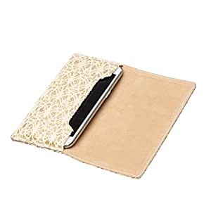 Desire 210 Dual Sim - Pu Leather Flip Cover & Pouch Case Cover Soft & Perfect Fitting