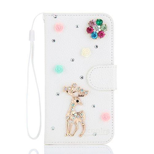 ZTE Star 2 / Star II Hülle, CaseFirst Luxus Diamant Handyhülle Stoßfest Brieftasche Etui Handyhülle Anti-kratzer PU Leather Wallet Case mit Karte Slots & Supporter
