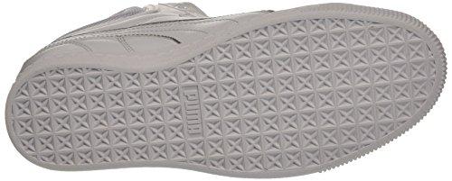 Puma 363535 01 Sneakers Femme Cuir Blanc Bianco/Argento