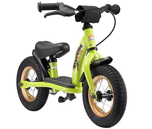 BIKESTAR Kinder Laufrad Lauflernrad Kinderrad f&uumlr Jungen und M&aumldchen ab 2-3 Jahre &9733 10 Zoll Classic Kinderlaufrad &9733 Gr&uumln