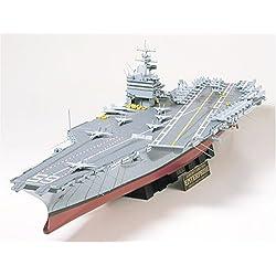 Tamiya 300078007 - Maqueta del portaaviones US CVN-65 Enterprise (Escala: 1:350)