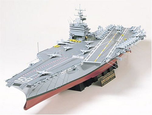 Tamiya 300078007 modello u.s. navy aircraft carrier cvn-65 enterprise