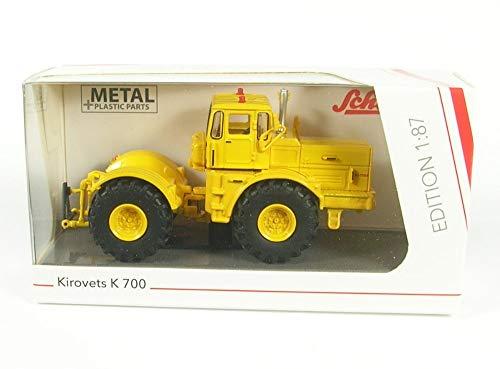 Schuco 452634900 452634900-Kirovets K 700 1:87, Modellauto, Modellfahrzeug, gelb