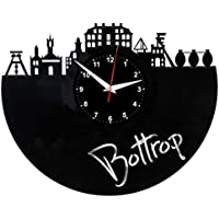 EVEVO Bottrop Reloj de Pared Vinilo Tocadiscos Retro de Reloj Grande  Relojes Style habitación Home Decoración a759d2146e0