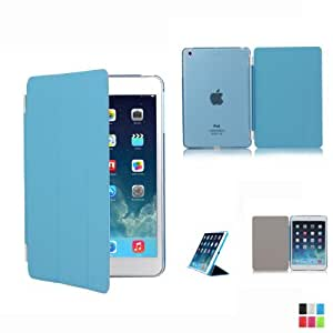 Adento iPad Mini 2 (iPad Mini mit Retina Display) Smart Cover mit separatem TPU Rückenschutz in blau