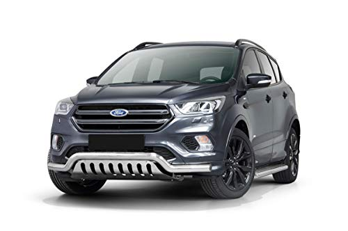 Barra de protección Frontal (Profundidad) con Chapa para Ford Kuga a Partir del año de fabricación 2017.