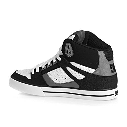 DC Universe Spartan High Wc, Baskets Basses Homme Black/Grey/White