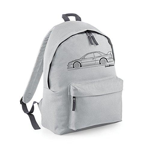 subaru-impreza-wrx-sti-22b-outline-voiture-sac-a-dos-gris-gris