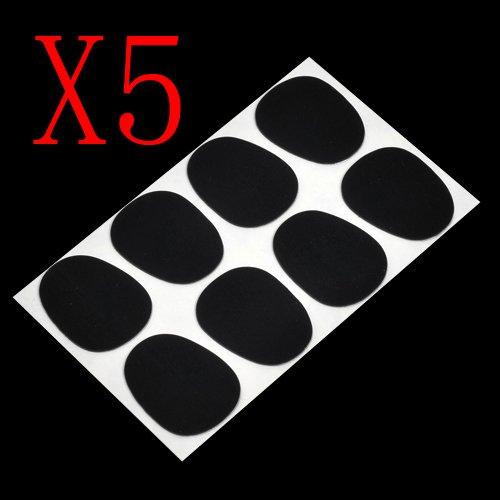 40 Schwarz Mundstück Mouthpiece Cushions für Tenor/Alt/ Bass Saxophon, Klarinette