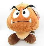 Felpa Goomba Seta Mushroom 30cm Original Oficial Super Mario Bros Enemigos Villanos Villains