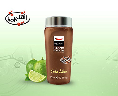 kok-tail bagno doccia gel cuba libre 300 ml