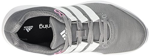 adidas Lite Runner W, Chaussures de Running Compétition Femme Gris - Grigio (Midgre/Ftwwht/Visgre)