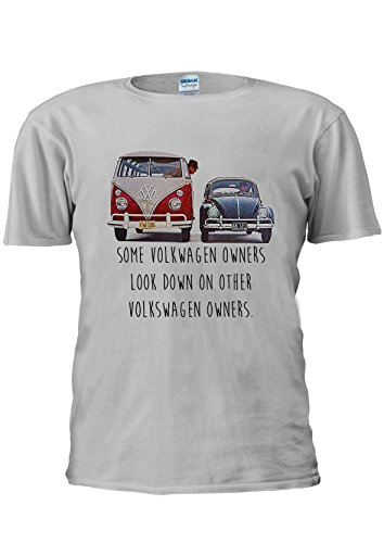 some-vw-owners-look-down-volkswagen-funny-car-unisex-t-shirt-top-men-women-ladies-xl