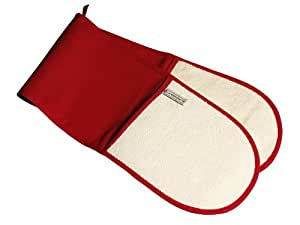 Le Creuset Textiles Double Oven Glove - Red