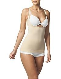 Sleex Figurformendes Damen Unterhemd - Underbust (Tragen Sie Ihren BH) (44044)