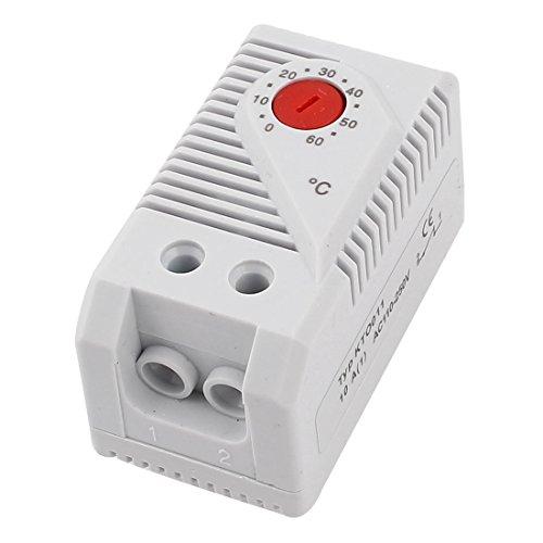 sourcingmap® KTO011 0-60 Celsius Grad Bimetall Bimetallschalter Thermostat Temperaturregler