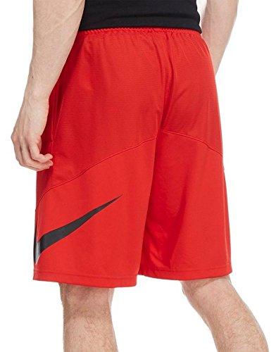 Nike M NK SHORT HBR - Shorts für Herren Rot/Schwarz