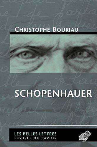 Schopenhauer (Figures du savoir t. 52)