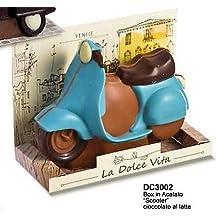 De Chocolaterie Vespa de Creación de Caja de Regalo en Chocolate Con Leche - 1 x