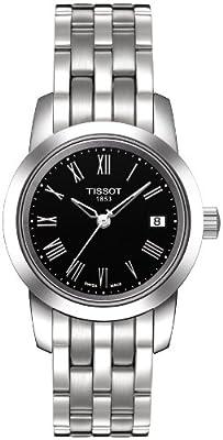 Tissot CLASSIC DREAM T0332101105300 de cuarzo, correa de acero inoxidable color gris