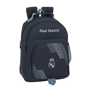 41MNNqmnaUL. SS300  - Safta Real Madrid 2 Mochila Tipo Casual 42 cm, 1 litro, Azul