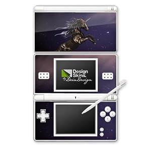 DeinDesign Skin kompatibel mit Nintendo DS Lite Folie Sticker Einhorn Pferd Fantasie