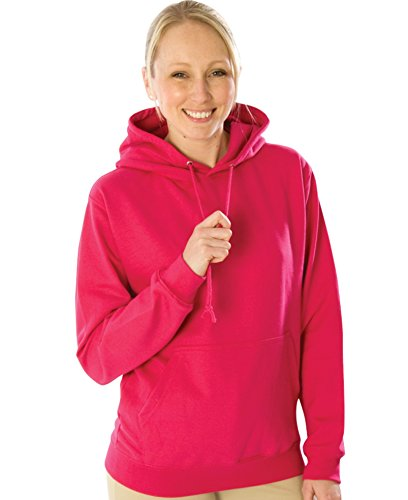 All We Do Is Damen Kapuzenpullover Gr. Large, Rosa - Hot Pink -