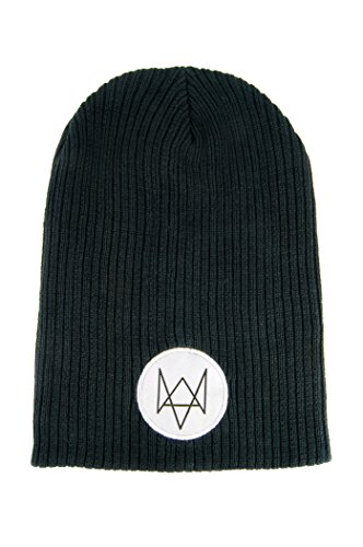 (Watch Dogs Mütze/Beanie mit Fox Patch)
