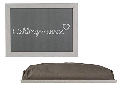 Kamaca LIEBLINGSMENSCH TABLETT einsetzbar als Knietablett mit Kissen für Laptop zum Essen im Bett Schosstablett Knieauflage Lapdesk Kniekissen (KNIETABLETT)