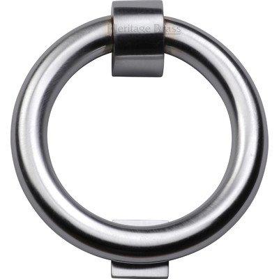 Türklopfer Ring - Satin Chrom