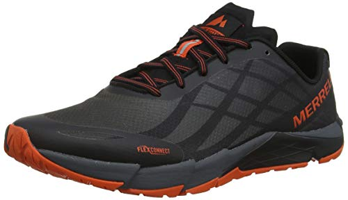 Merrell bare access flex, scarpe sportive indoor uomo, nero (black), 42 eu