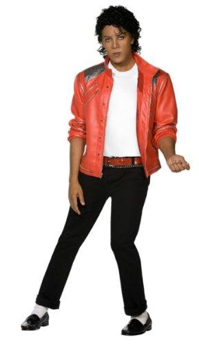 Kost?m Michael Jackson Jacko Beat it rot Lederjacke L