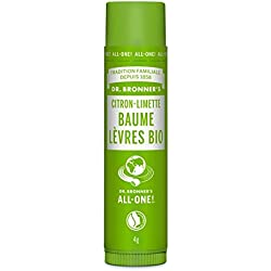 Dr Bronner Baume a labbra Limone