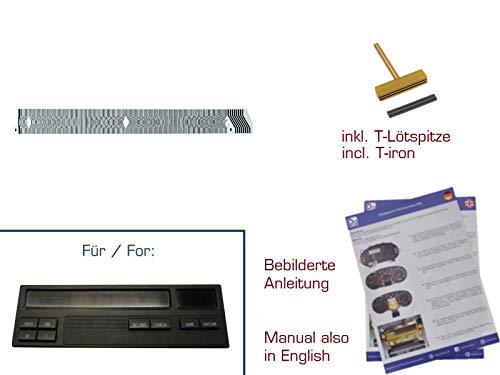 gearworks Kontaktfolie für 3er/E36 MID/Bordcomputer Display mit 8 Tasten Reparatur 8 Taste Display