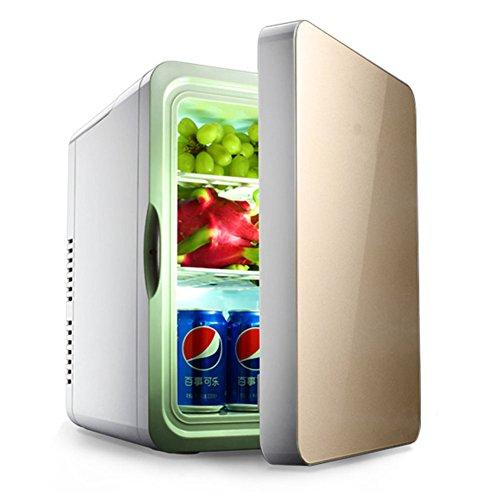 DULPLAY Auto Refrigerazione Mini frigo portatile,22l Dispositivo di raffreddamento delle bevande Per la casa, Ufficio e auto Anta singola Mini frigo bar-A 48x35x45cm(19x14x18inch)